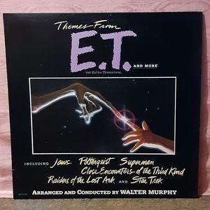 Vintage E.T. The Extra-Terrestrial Vinyl LP Album